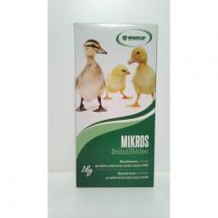 Mikros VDV 1 kg - vitamíny a minerály pro drůbež na výkrm č.1