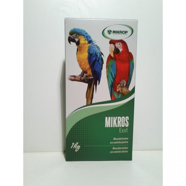 vitamíny s gritem pro papoušky VGE 1 kg