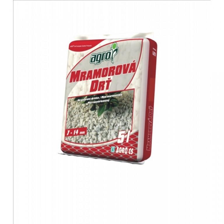 Agro Mramorová drť 7-14 mm 5 L