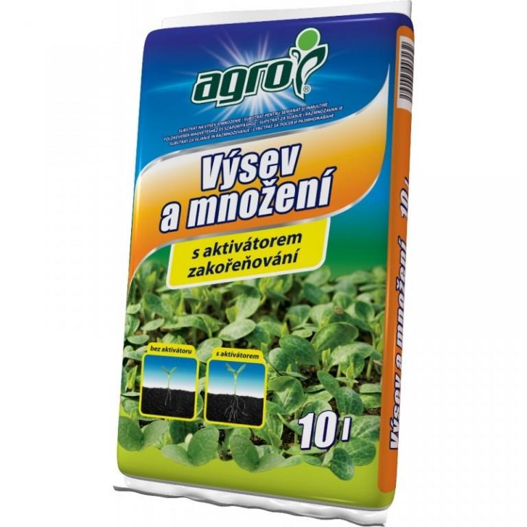 Agro Substrát pro výsev a množení 10 L
