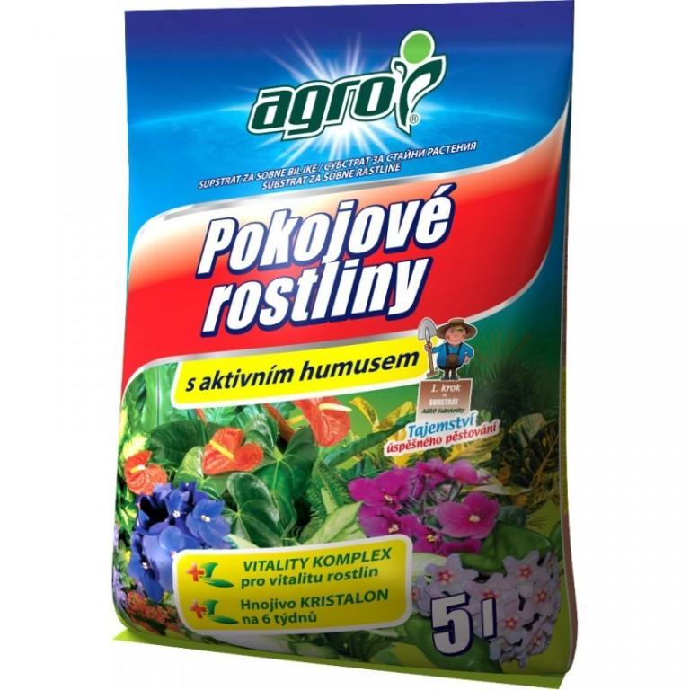 Agro Substrát pro pokojové rostliny 5 L