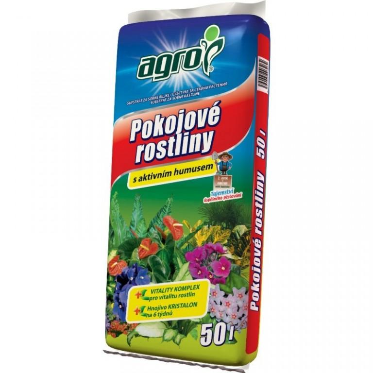 Agro Substrát pro pokojové rostliny 50 L