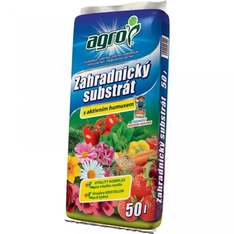 Agro Zahradnický substrát 50 L