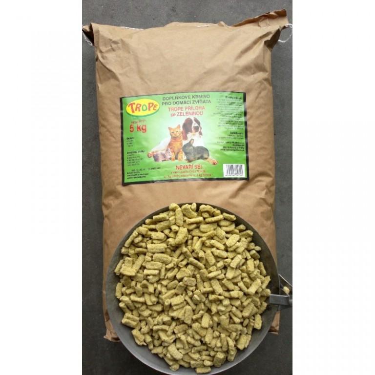 Trope - doplňkové krmivo se zeleninou 5 kg