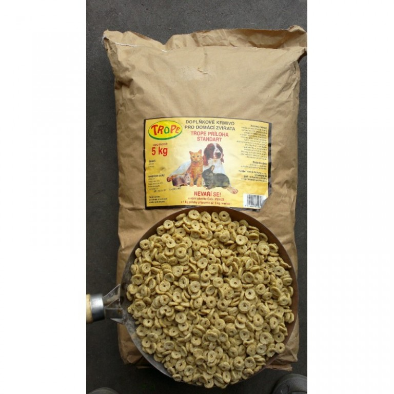 Trope - doplňkové krmivo standard 5 kg