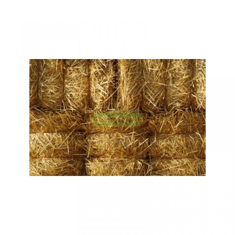 Pšeničná sláma balík 50x50x40 cm