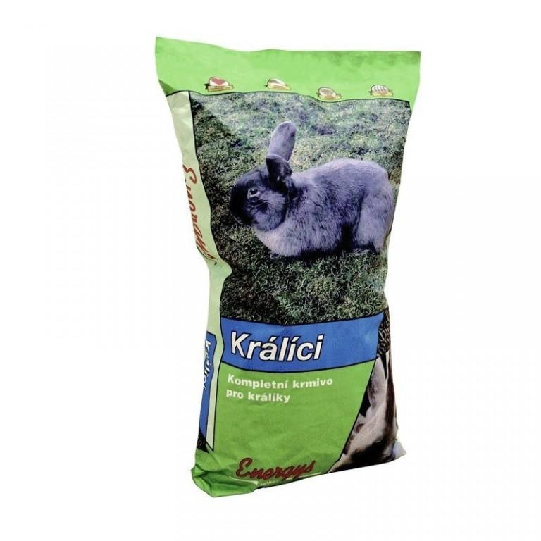 KRÁLÍK KLASIK FORTE granule 25kg
