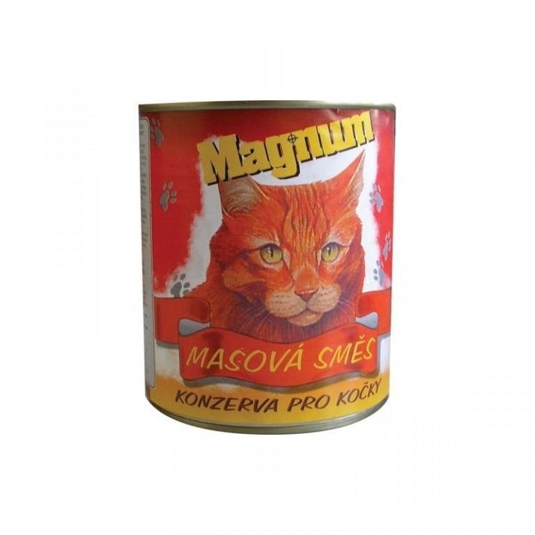 Magnum konzerva pro kočky 400 g - Masová směs