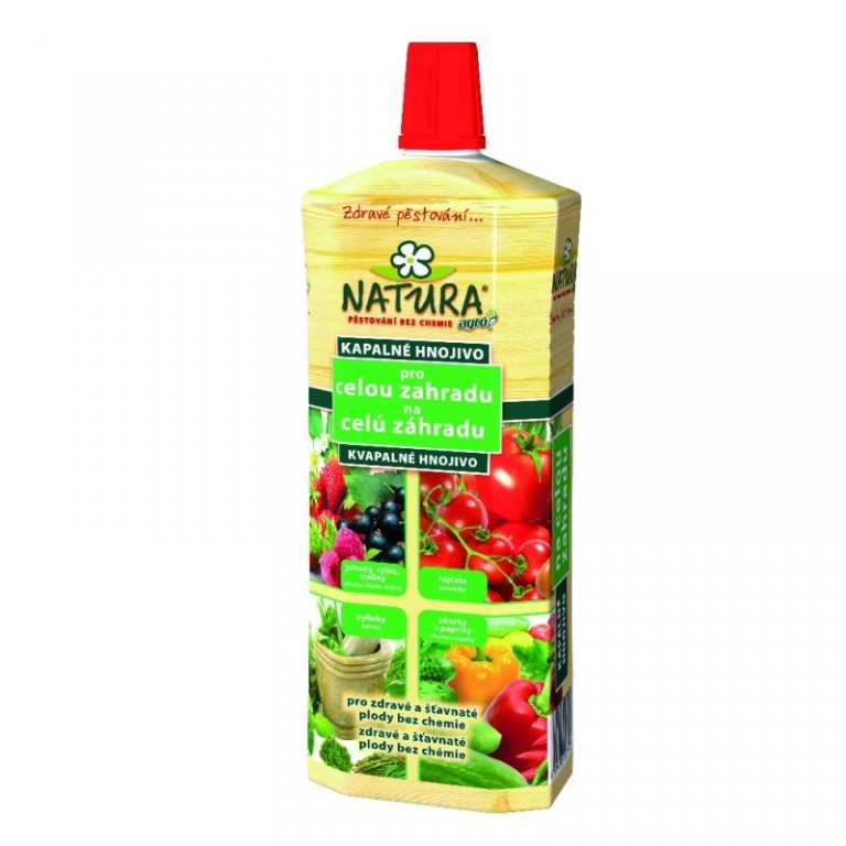 Natura Organické kapalné hnojivo pro celou zahradu 1 L