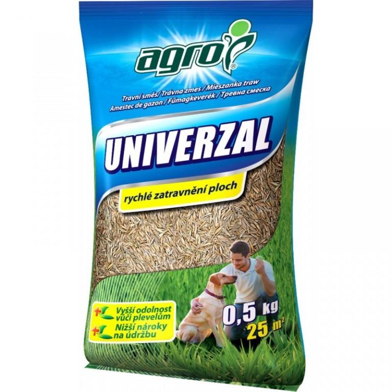 Agro Travní směs UNIVERZÁL sáček 0,5 kg