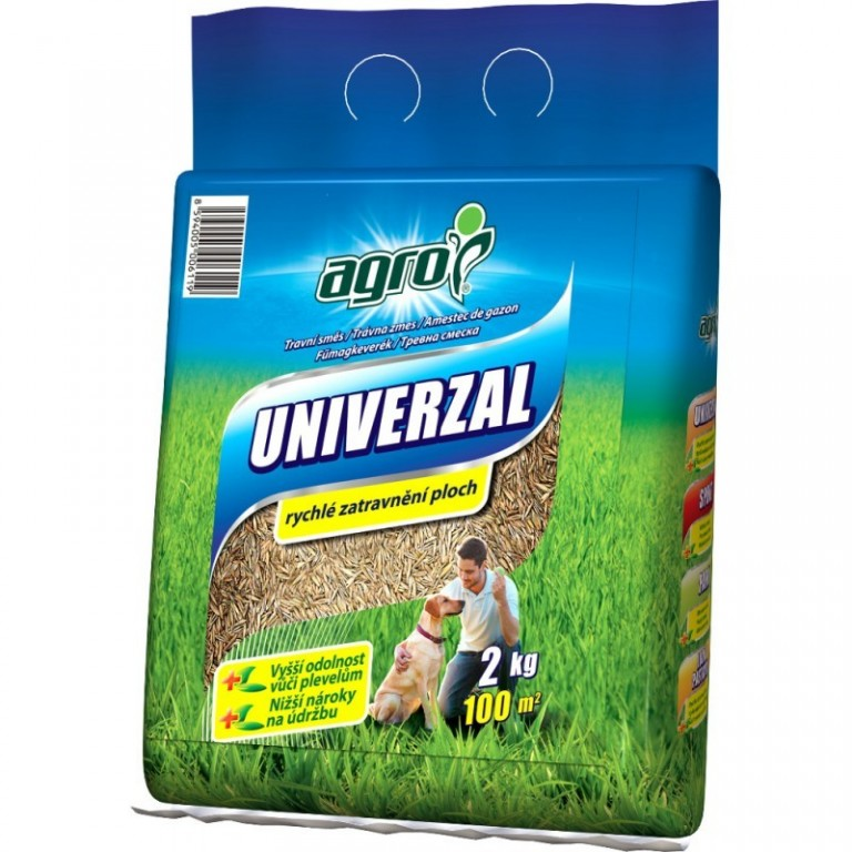 Agro Travní směs UNIVERZÁL taška 2 kg