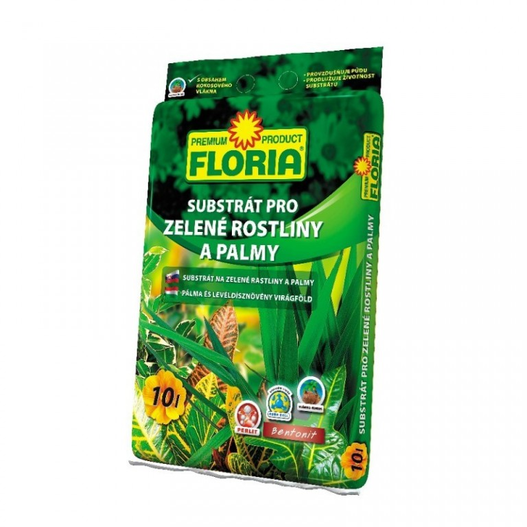 Floria Substrát pro zelené rostliny 10 L