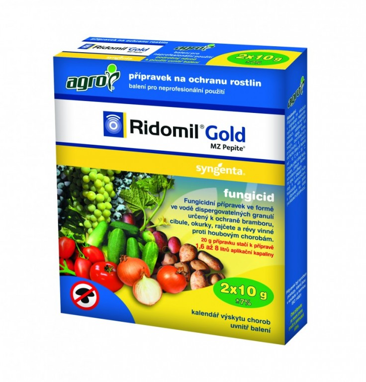 Agro Ridomil Gold MZ Pepite 2 x 10 g