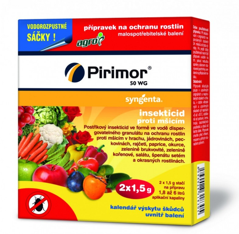 Agro Pirimor 50 WG 2 x 1,5 g