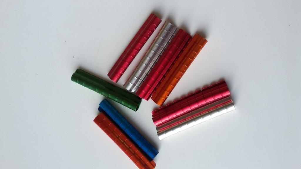 Kroužky pro papoušky ⌀ 6 mm (10 ks)