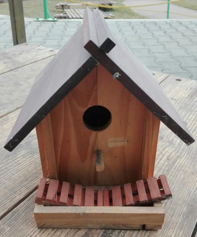Budka pro venkovní ptactvo č.1