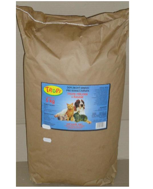 Trope - doplňkové krmivo s řasou
