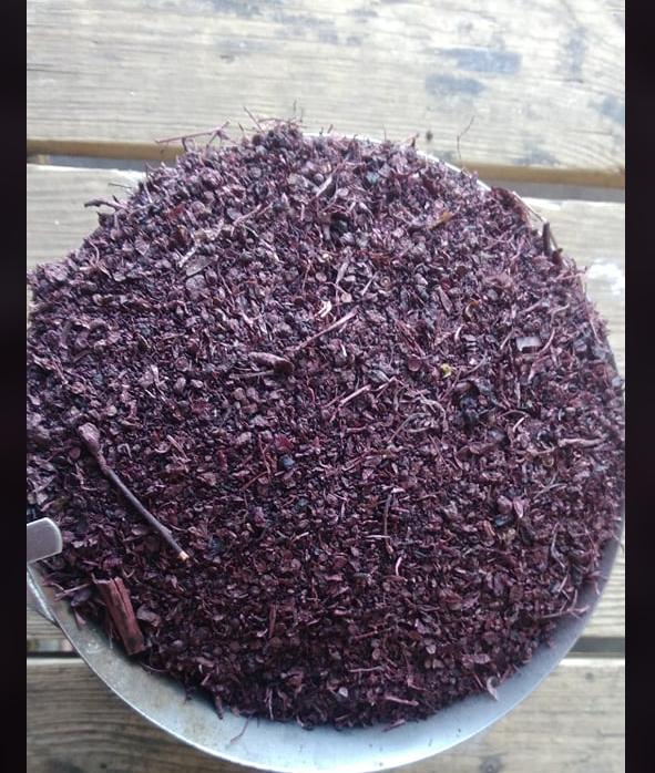 Sušené výlisky z černého rybízu 1kg